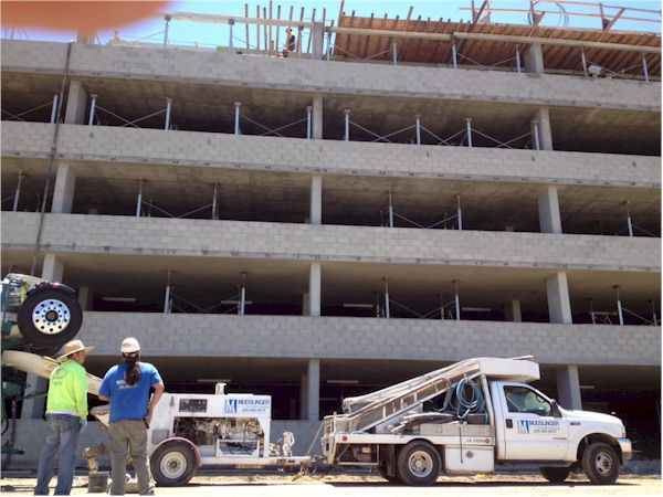 Commercial Concrete Pumping in the Central Valley - www.mudslingerconcretepumping.com